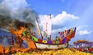 festival bakar tongkang 2019 riau 2 - Publiknews