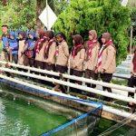 Potmar Lanal Dumai, Latih Saka Bahari Bercocok Tanam dan Budidaya Nila