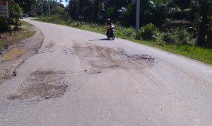 Jalan Siak-Bungaraya Mengancam Jiwa Pengendara, Syamsurizal Budi: Jangan Alasan Covid, Kalau Barang Dah Lelang, Kerjakan