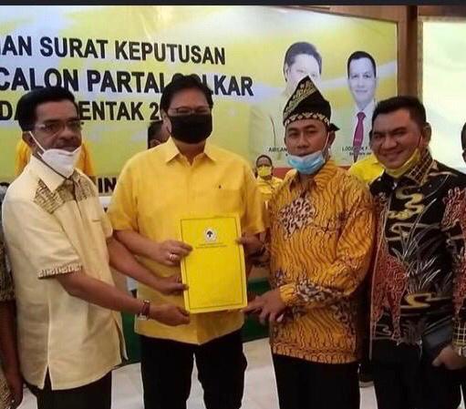 Resmi Kantongi SK DPP Golkar, Arif-Sujarwo Siap Berlayar di Pilkada Siak 2020