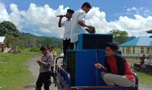 Gelar Unjuk Rasa, SPDL Boikot Kantor Desa Losseng