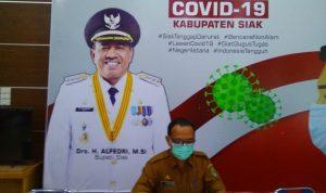 Posko Gugus Tugas Covid-19 Kabupaten Siak