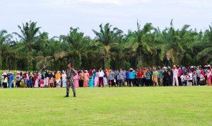 Kampung Langsat Permai Gelar Upacara HUT RI ke 75