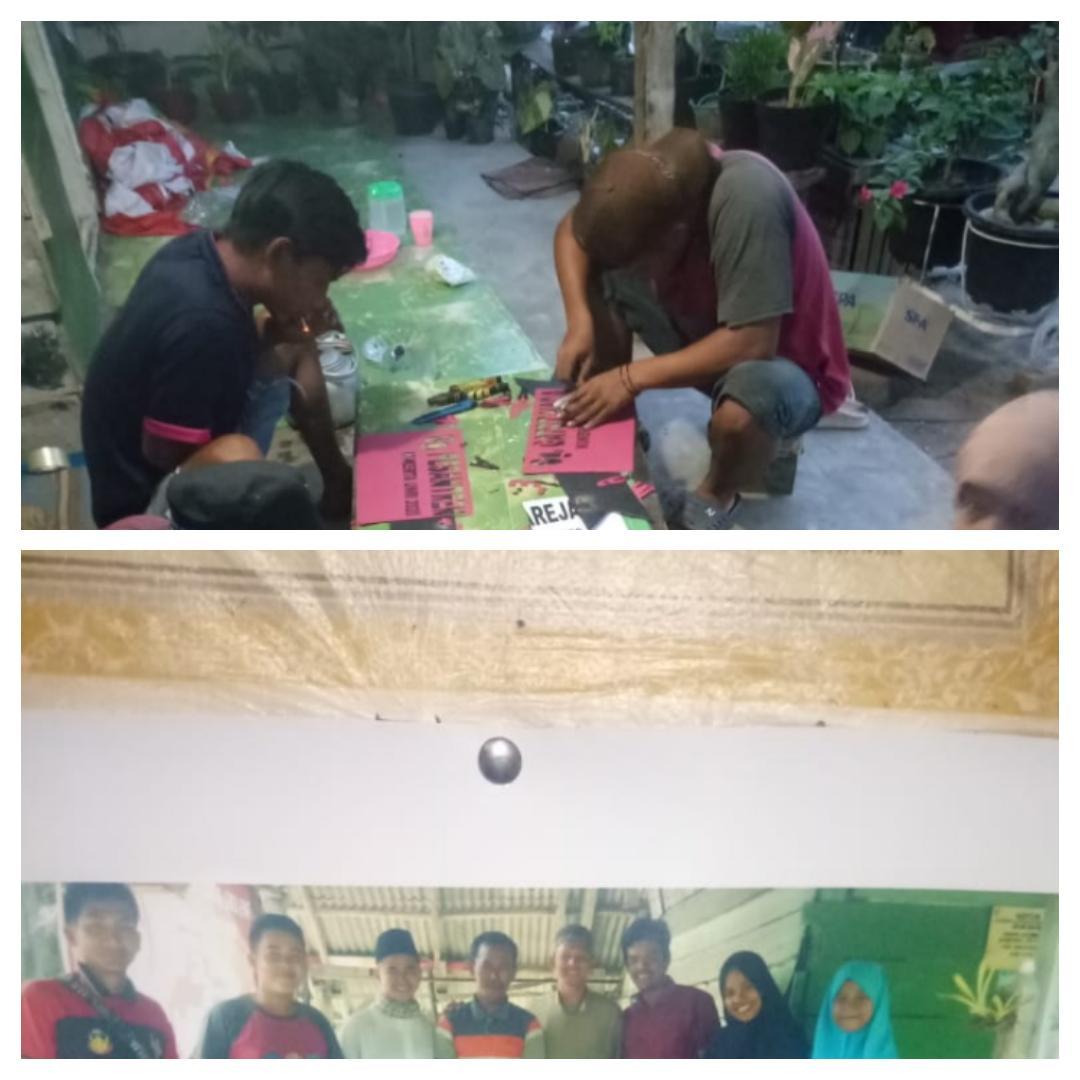 Kesan Mahasiswa Kukerta UNRI di Kampung Jatibaru, Plang Nama Jalan Hingga Pengembangan UMKM
