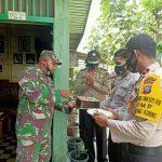 Harmonis, HUT Ke-75 TNI, Polsek Koto Gasib Bawakan Kue Ulang Tahun