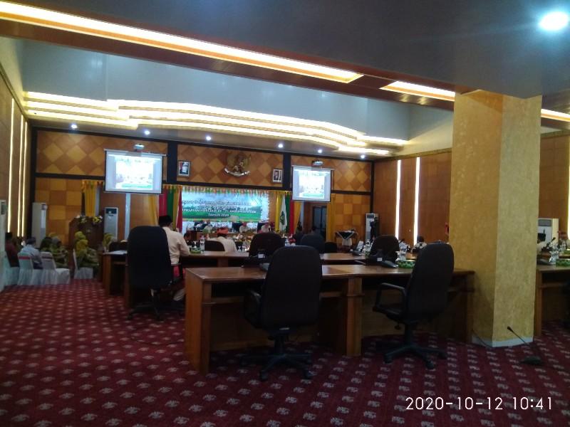 Paripurna Peringati Hari Jadi Kabupaten Siak ke 21, Kursi Anggota Dewan Banyak Kosong