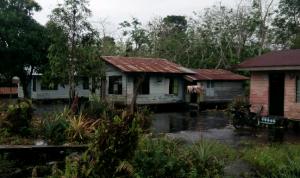 Akibat Curah Hujan, Puluhan Rumah di Kecamatan Bukit Batu Bengkalis Terendam Banjir
