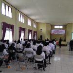 Panwascam Bungaraya Lantik 58 Anggota PTPS
