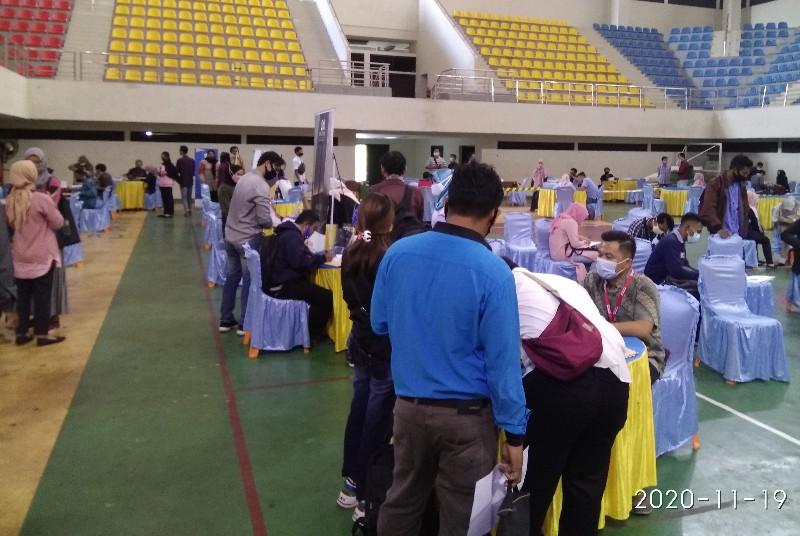 Job Fair Hari Kedua, Jumlah Pelamar Kerja Mencapai 800 Orang