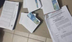 Di Inhu Riau, Tim Patroli Money Politic Bawaslu, Temukan 146 Lembar Amplop Berisi Uang 50 Ribu Rupiah