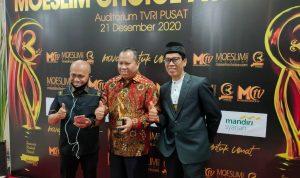 Raih Moeslem Choice Award Jelang Masa Akhir Jabatan, Bupati Irwan Masuk Tokoh Muslim Berpengaruh di Indonesia