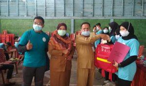 Gelar Bimtek, Kadiskes Meranti Sampaikan Motivasi Posyandu Kepada Remaja Pulau Merbau