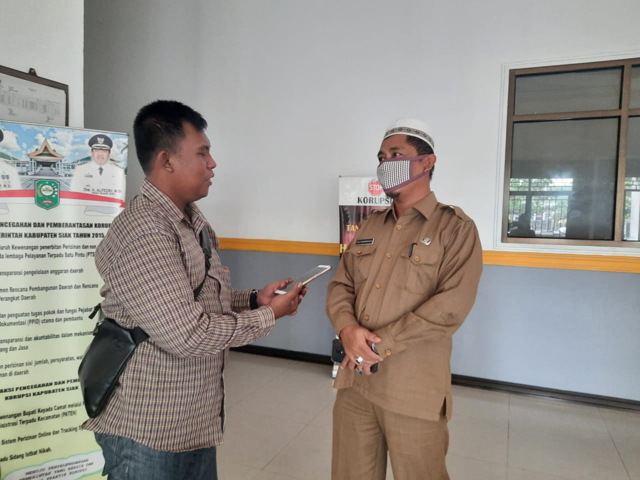 Terkait Anggaran Covid-19 2020 di Siak, Faly Wurendarasto Akui, ada Temuan Kelebihan Bayar di Dinas Kesehatan