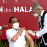 Lulus Uji Prevaksinasi, Hari ini Presiden Joko Widodo Disuntik Vaksin