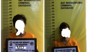 Polisi Tangkap 2 Pemuda Kepulauan Meranti saat Paketkan Sabu, 1 Orang Melarikan Diri