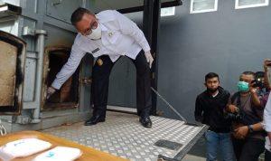 BNNP Sultra Lenyapkan Sabu Milik Penjual Ikan