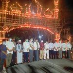 Malam 27 Ramadhan, Wakil Bupati Meranti H. Asmar Resmikan Festival Lampu Colok