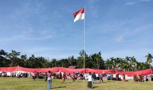 Bendera Merah Putih 45 Meter