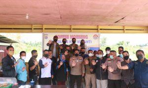 Gelar Coffe Morning, Kapolres Meranti AKBP Andi Yul: Wartawan dan Polisi Harus Bersinergi
